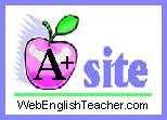 WebEnglishTeacher A+ Resource